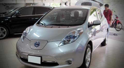 Ôtô điện Nissan Leaf bất ngờ xuất hiện Việt Nam
