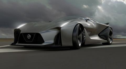 Nissan Vision Grandturismo Siêu xe đến từ hành tinh khác