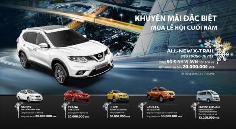 Đánh giá chi tiết về Nissan XTRAIL (ALL- NEW) NISSAN X-TRAIL(2016), Mẫu Crossover (5+2) CAO CẤP